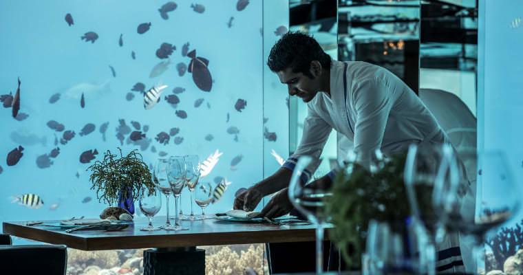 馬爾地夫海底餐廳