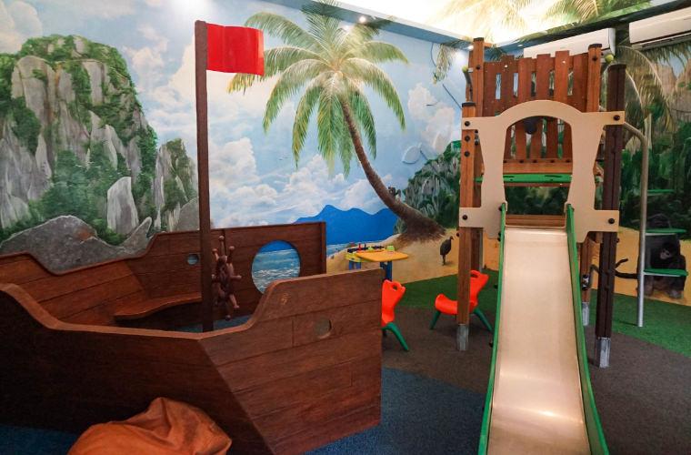 愛妮島一島一飯店。 Miniloc Island明尼諾渡假村