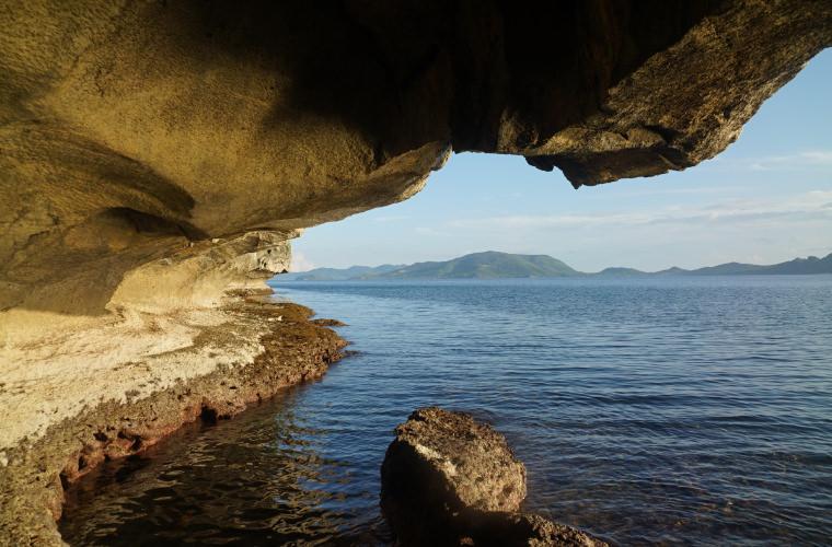 愛妮島全包式一島一飯店。 Apulit阿普莉渡假村