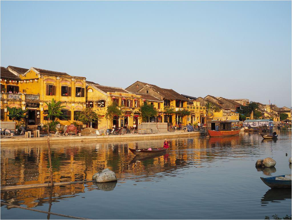 越南 會安 。百年古鎮一日散策