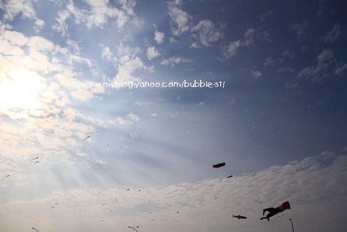 新竹 南寮漁港 – 來放風箏囉
