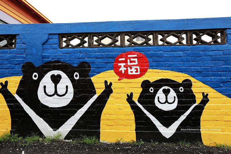 【台南善化彩繪景點】胡厝寮 – 外婆家的彩繪牆.有著對阿嬤的愛阿~