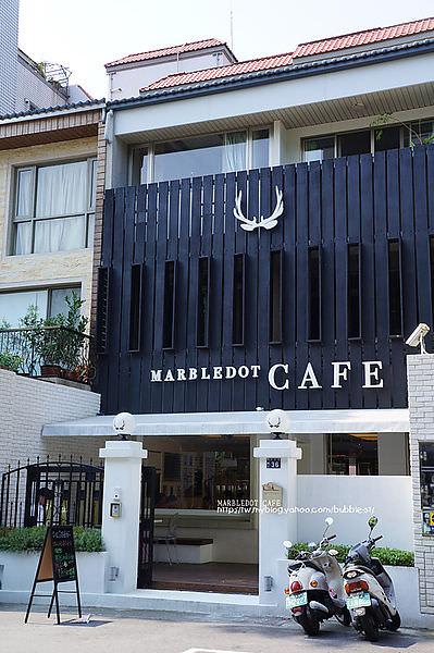 【台中西區】瑪寶咖啡 MARBLEDOT CAFE – 2個日本人開的.隔壁桌就坐了日本人.明亮舒適的空間 (已歇業)