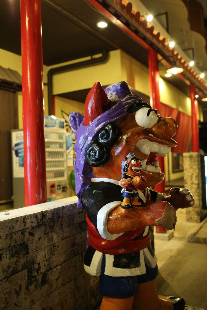 沖繩│島人料理ちぬまん恩納2號店-不小心點太多.好撐