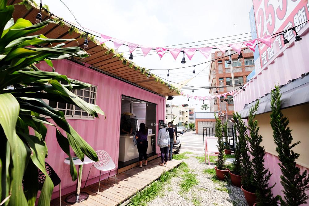 20170713003053 32 - ㄚㄚ販店-粉紅色夢幻貨櫃加乾燥花拍照場景.賣的是九宮格中式精緻餐點.潭子國小附近