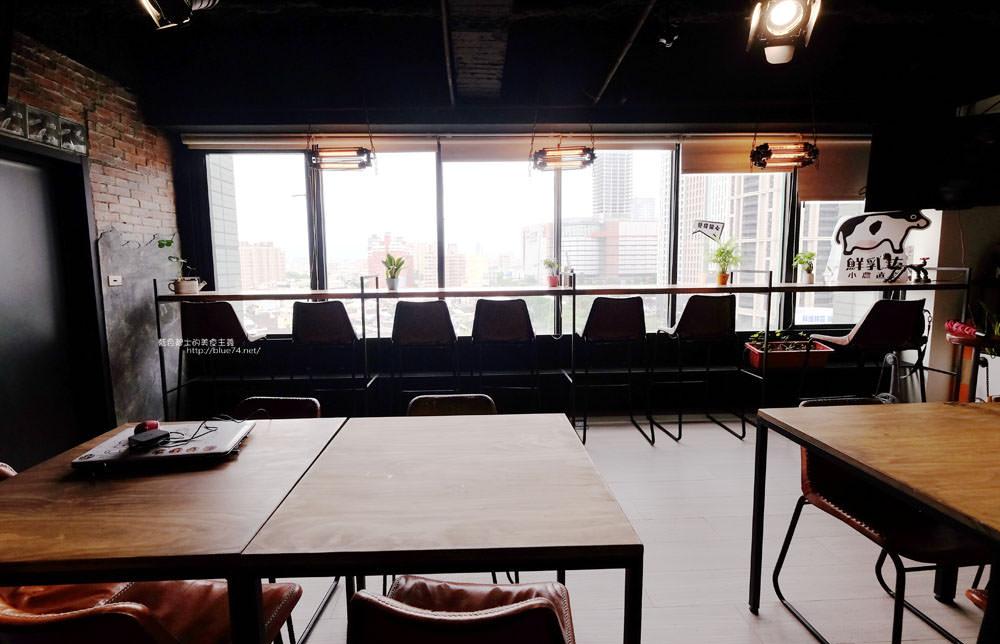 20170802115829 93 - 光明客棧idea Lab CAFE十樓咖啡館│吧台區擁有俯瞰城市景觀的窗景.有夜景就更讚了