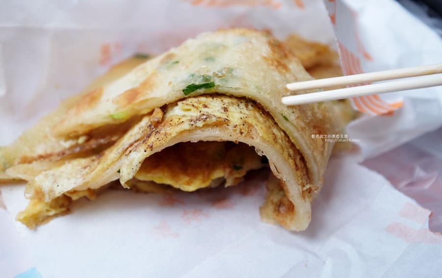 台中大雅│臧羅葱油餅-在地人的下午點心.記得加蛋加蒜蓉醬