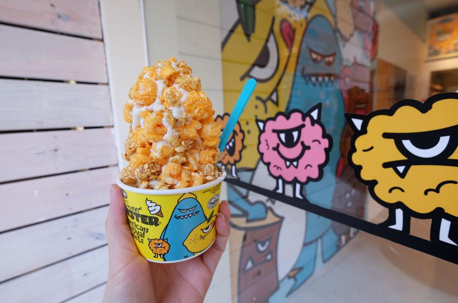 20171102021749 88 - 甜心怪獸台中旗艦店-來自韓國首爾有著滿滿爆米花的怪物霜淇淋