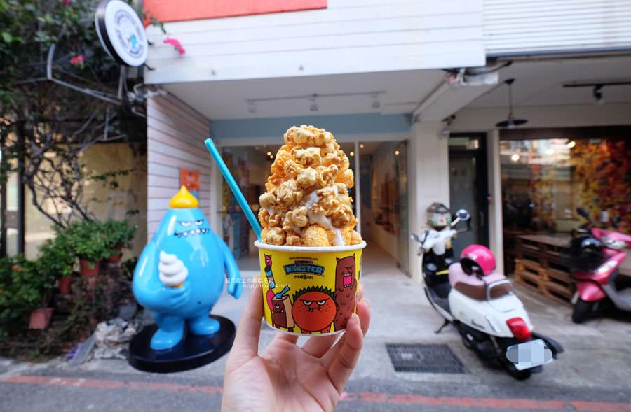 20171102021750 84 - 甜心怪獸台中旗艦店-來自韓國首爾有著滿滿爆米花的怪物霜淇淋