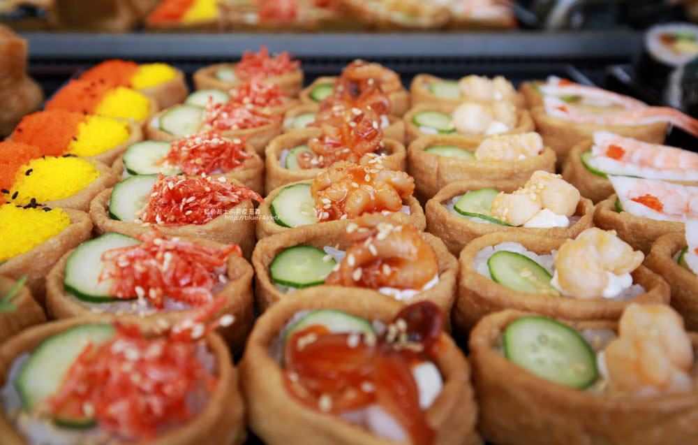20171214010307 91 - 熱血採訪│天皇壽司,大里仁化黃昏市場新鮮平價外帶選擇性多花壽司,還有100元的丼飯也太划算!