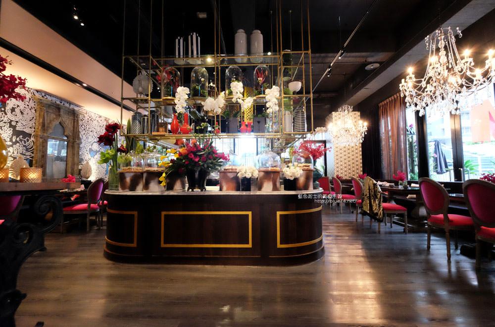 台中西屯│WOO Taiwan台中米平方店-華麗宮廷浪漫視覺系超好拍美店.來自清邁正宗泰式料理.台中第一家分店在米平方商場