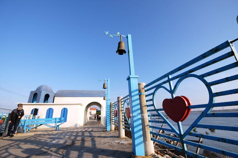 20171223232412 61 - 麗水漁港-百年漁港變身希臘風格拍照打卡景點.還有龍井堤防自行車道西瓜皮休憩座位區跟彩虹廊道喔