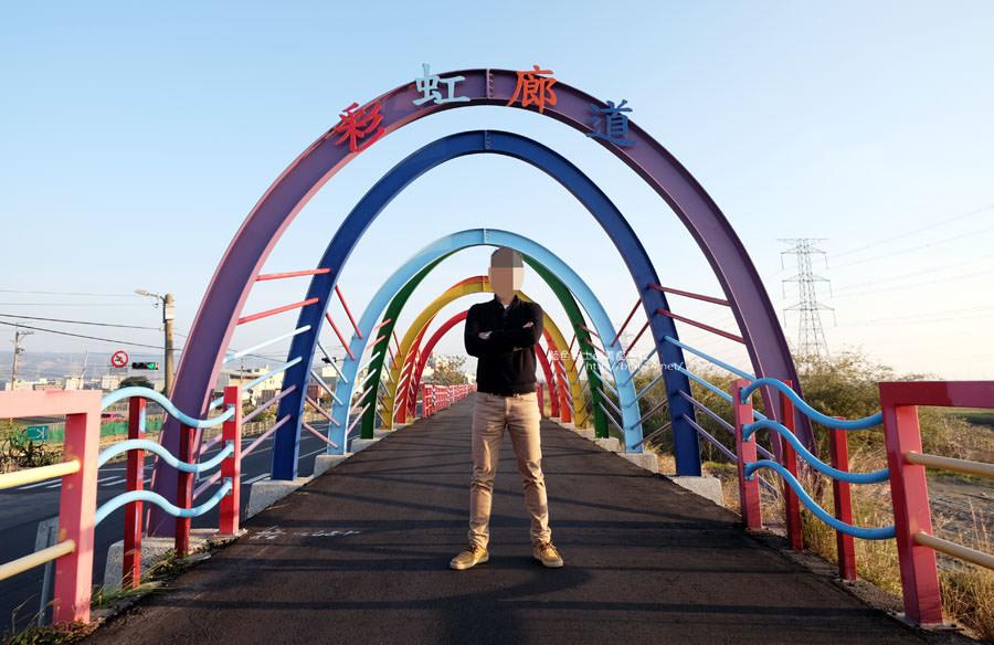 20171223232435 95 - 麗水漁港-百年漁港變身希臘風格拍照打卡景點.還有龍井堤防自行車道西瓜皮休憩座位區跟彩虹廊道喔