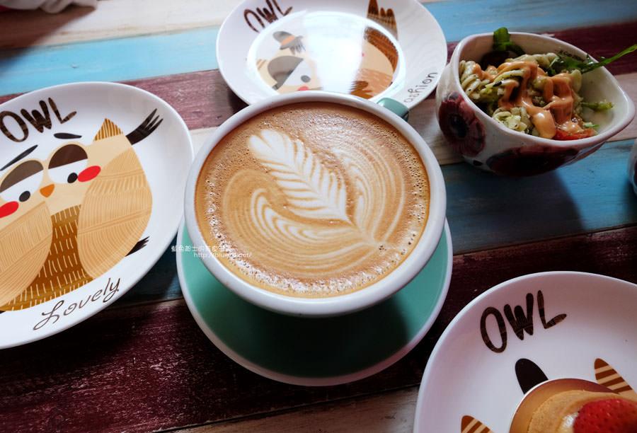 20171226014826 46 - 力芽咖啡Coffeeeah-南屯隱藏大大的親子空間.貓頭鷹元素無所不在