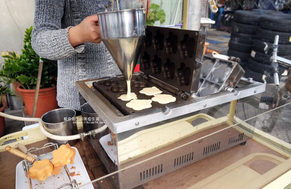 20180126014430 21 - 花福雞蛋糕-米黃色可愛攤車.花型雞蛋糕.你今天花福了嗎