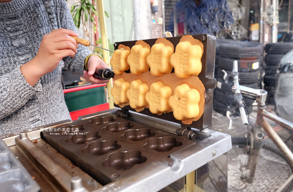 20180126014431 88 - 花福雞蛋糕-米黃色可愛攤車.花型雞蛋糕.你今天花福了嗎