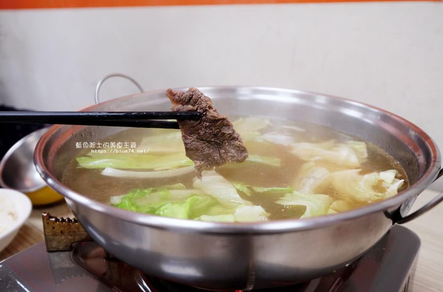 20180203001959 97 - 大三仙頂級現宰牛肉湯-多人直接點牛肉爐.一個人來也方便點.現炒加肉燥飯加一碗牛肉湯