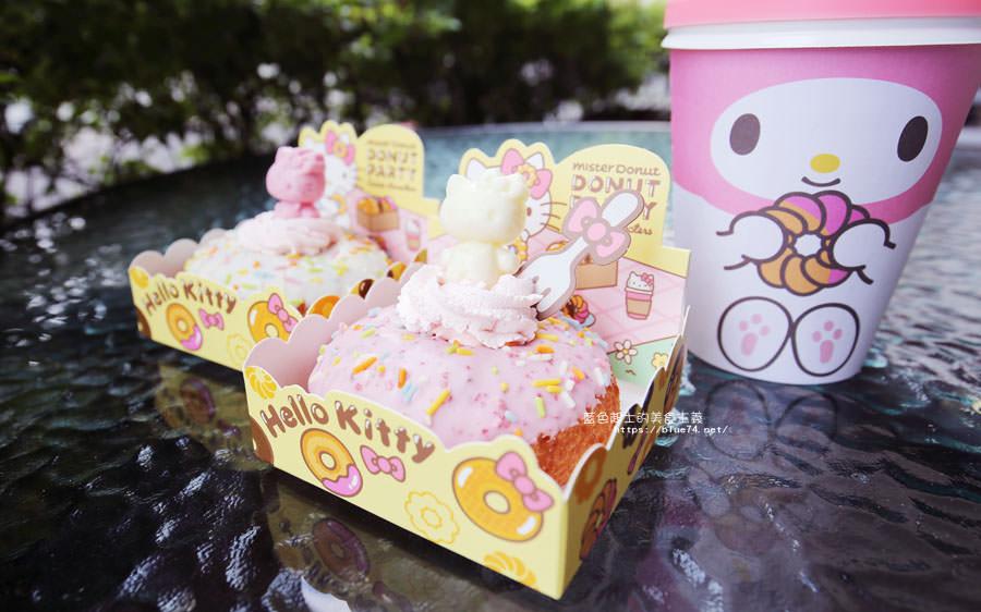 20180226095636 100 - 統一多拿滋Mister Donut-春日限定Hello Kitty雲朵甜甜圈超卡哇依療癒的啦