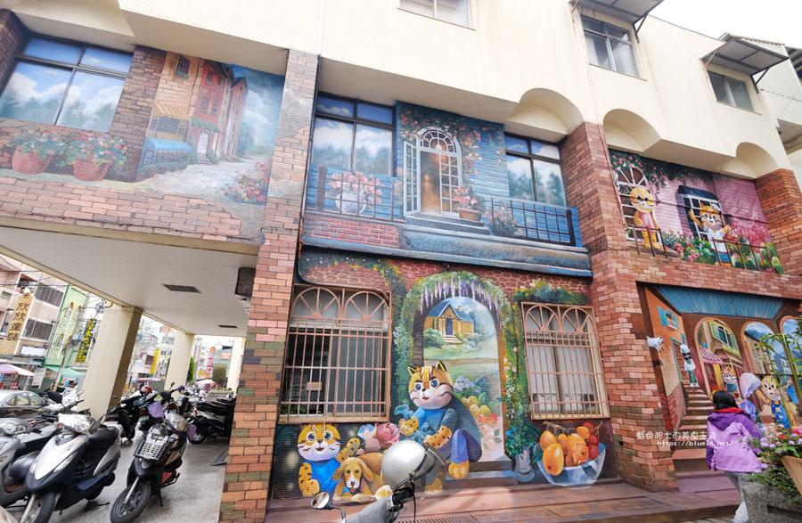 20180314173214 47 - 太平區公所3D石虎家族彩繪-兩層樓高的彩繪牆.石虎家族和花卉主題吸睛好看