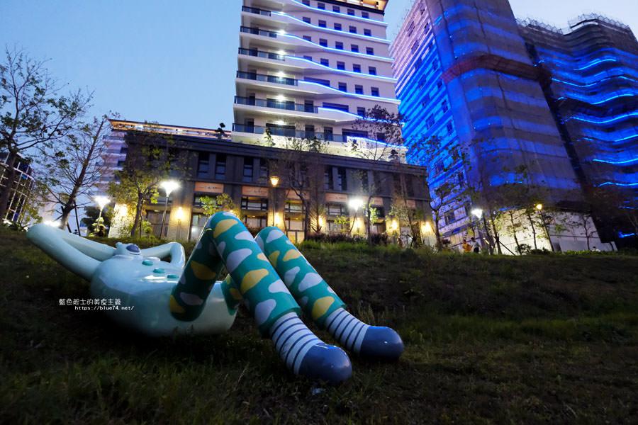 20180318014109 96 - 東湖公園-新打卡點.閱讀熊超人和午睡熊超人晚上更浪漫好拍.台中軟體園區Dali Art藝術廣場旁