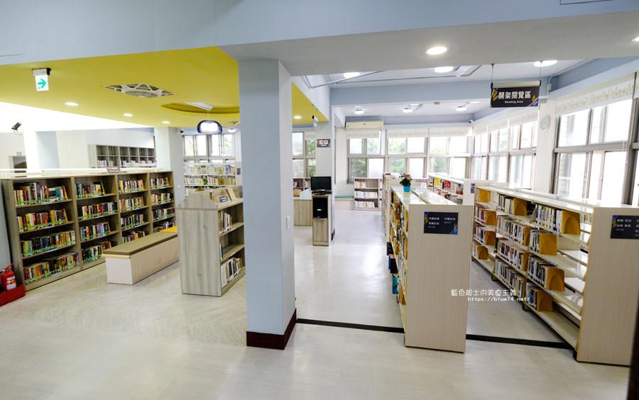 20180329105443 64 - 大雅圖書館│空間大改造的20年圖書館.大片玻璃有著大雅國小的綠意與充足光線