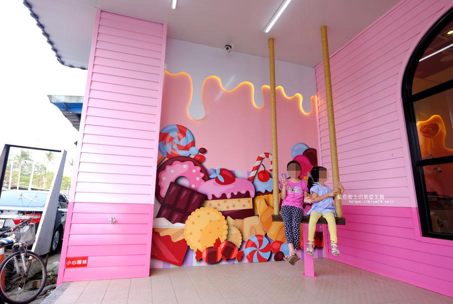 20180401210310 22 - 7-11后糖門市-粉紅少女心爆發.全台第一家夢幻粉紅糖果屋
