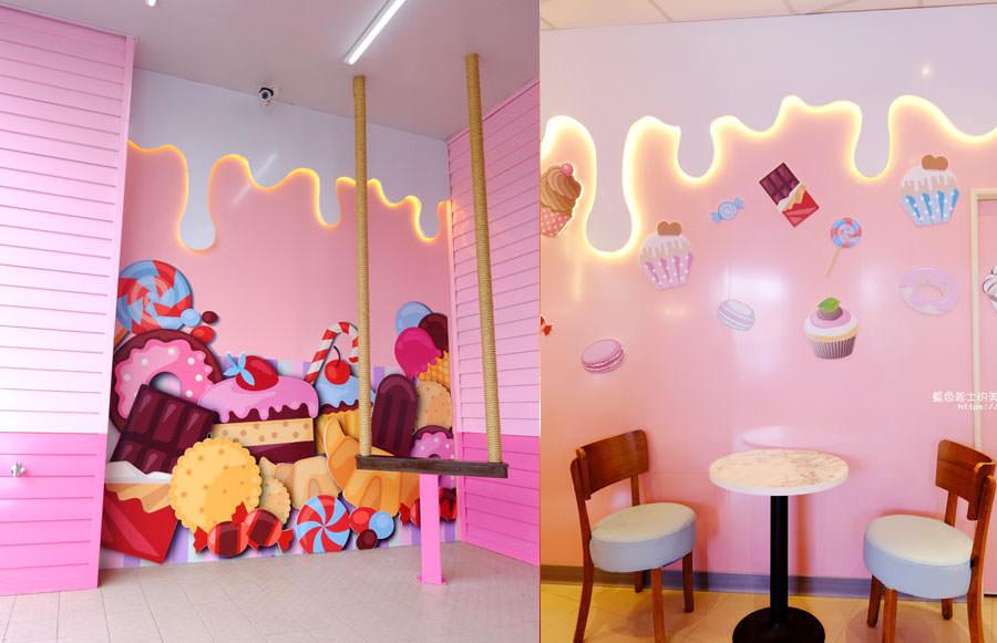 20180401210330 28 - 7-11后糖門市-粉紅少女心爆發.全台第一家夢幻粉紅糖果屋