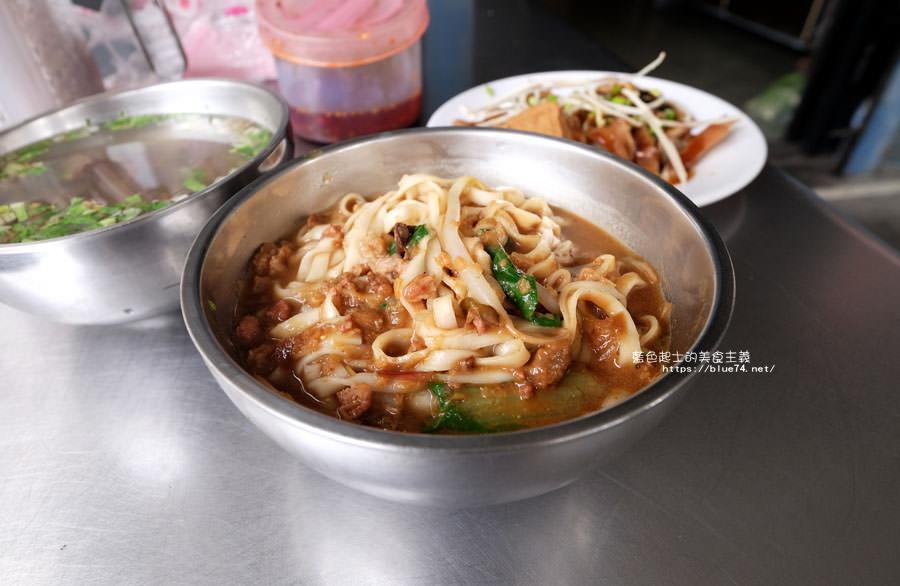 台中烏日│無名麵攤-低調不明顯的轉角處有好吃的麻醬麵.統一加油站附近