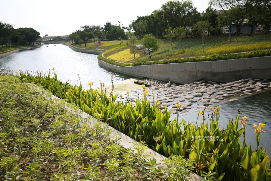 台中豐原│豐原葫蘆墩公園-水岸花都的軟埤仔溪,花博三大園區中唯一有河川的展區