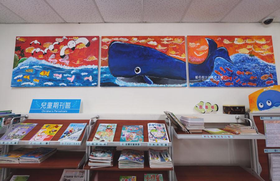 20180610015749 36 - 臺中市立圖書館大安分館│海洋風格為主題,自然生態保育館藏特色