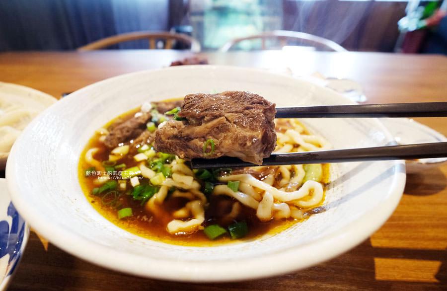 台中西屯│小曲餃子館東北美食-牛肉麵跟水餃都不錯
