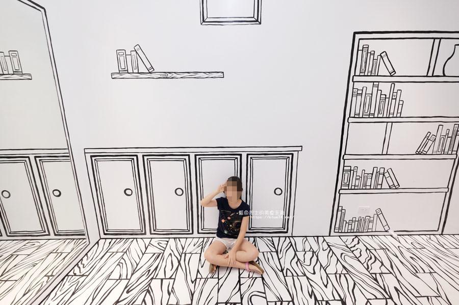 20180710163723 92 - Goddess Cafe│走進漫畫世界裡,超酷的2D黑白漫畫感咖啡廳