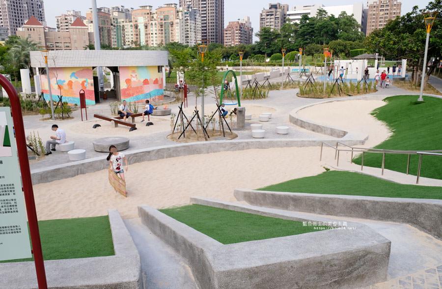 20180717021256 58 - 豐樂雕塑公園-全台第一座公立雕塑公園及跑酷設施公園,增設磨石子溜滑梯、翹翹板、鞦韆、沙坑
