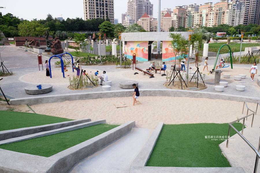 20180717021258 68 - 豐樂雕塑公園-全台第一座公立雕塑公園及跑酷設施公園,增設磨石子溜滑梯、翹翹板、鞦韆、沙坑