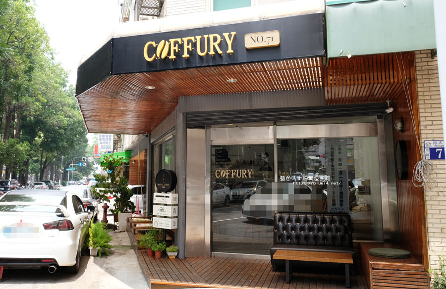 台中北區│Coffury Studio No.71-結合咖哩與咖啡的coffury,也吃的到牛肉麵和煎餃,咖啡表現不錯