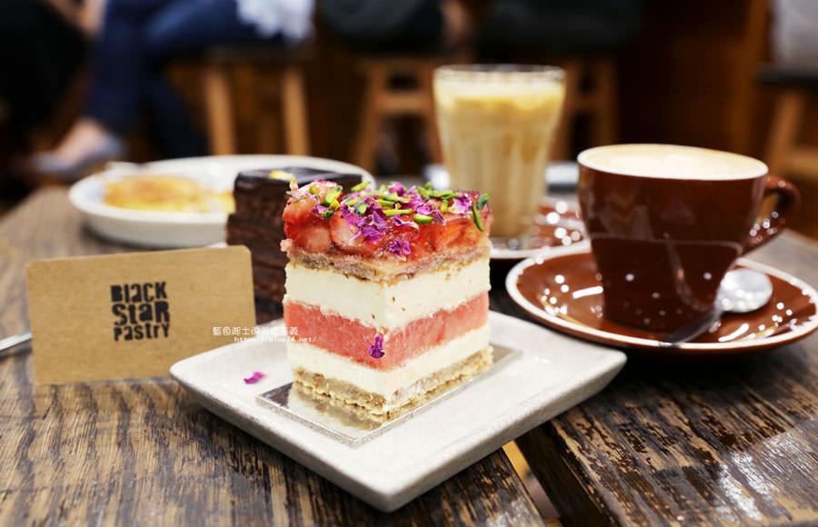 澳洲雪梨│Black Star Pastry-藏身Books Kinokuniya裡的人氣玫瑰草莓西瓜蛋糕,QVB維多利亞購物中心旁