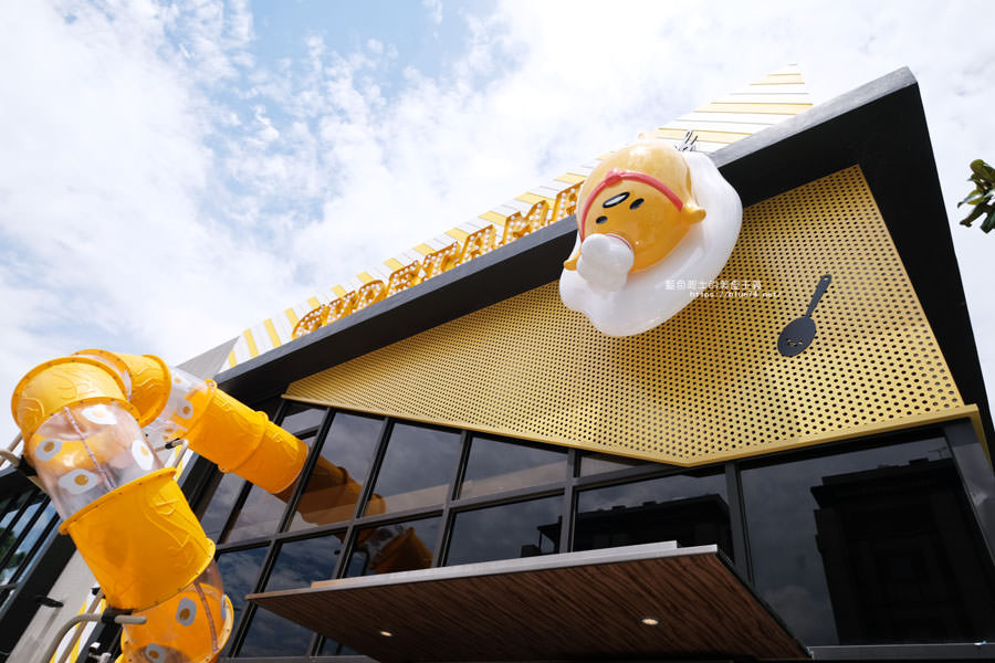 20180803124249 37 - 蛋黃哥五星主廚餐廳台中旗艦店│台中萌懶打卡新地標,親子友善餐廳,還有兩層樓高的旋轉溜滑梯