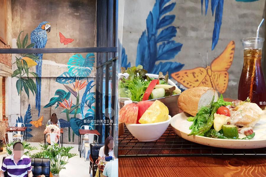 台中西區│堅果小巷-好拍唯美玻璃屋、老屋改造彩繪牆面新空間,好堅果咖啡新作