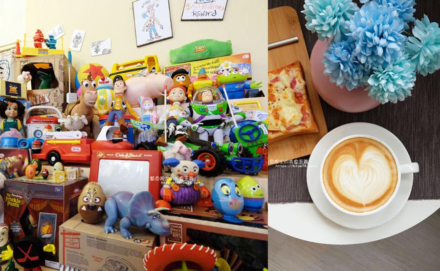 台中西區│Myu Cafe&Toy-超多老闆收藏的玩具總動員咖啡館,喝咖啡兼挖寶