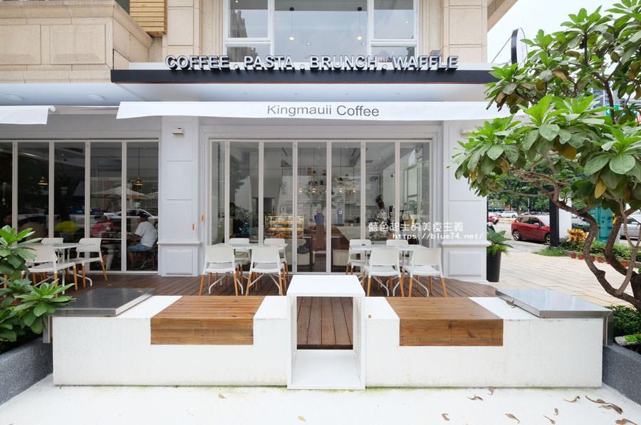 高雄鼓山區│金茂宜咖啡美術店-白色系網美風打卡點,室內室外都好拍