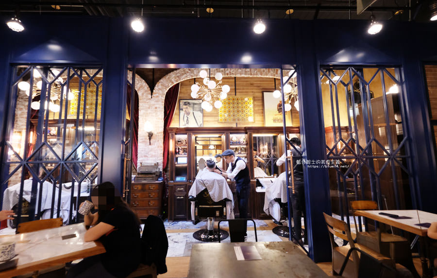 20181011005015 4 - GRIT Mojocoffee-復古華麗風格還有老件,Mojo在秀泰台中文心店