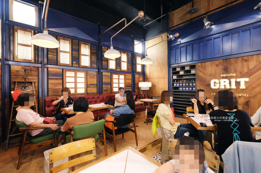 20181011005016 82 - GRIT Mojocoffee-復古華麗風格還有老件,Mojo在秀泰台中文心店