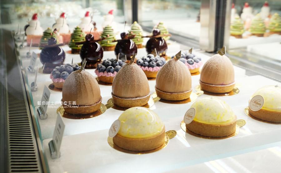 台中北區│Shamon法式甜點-減糖甜點,優雅用餐環境,價格看個人