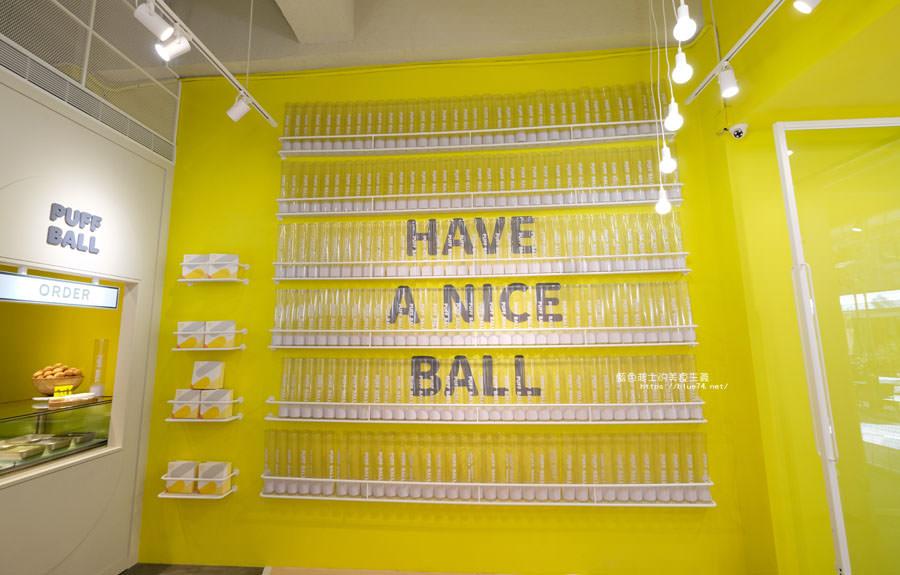 20181123015235 9 - Puff Ball泡芙球│在網美風的網球場裡吃泡芙,置物櫃變成取餐檯,可愛店員穿著網球裝,趕快來拍照打卡