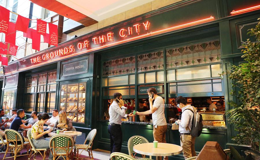 澳洲雪梨│The Grounds of the City-記得先訂位,澳媒雜誌推薦人氣懷舊復古風美食餐廳,QVB mall旁