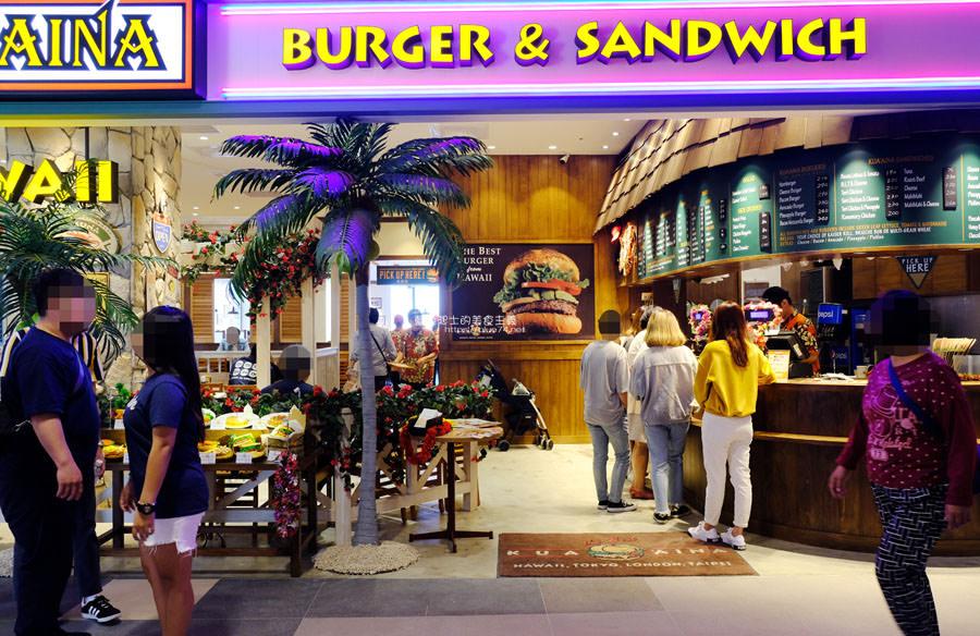 20181204011948 2 - KUA`AINA夏威夷漢堡-來自夏威夷,歐巴馬也愛的漢堡店,台中三井OUTLET吃得到了