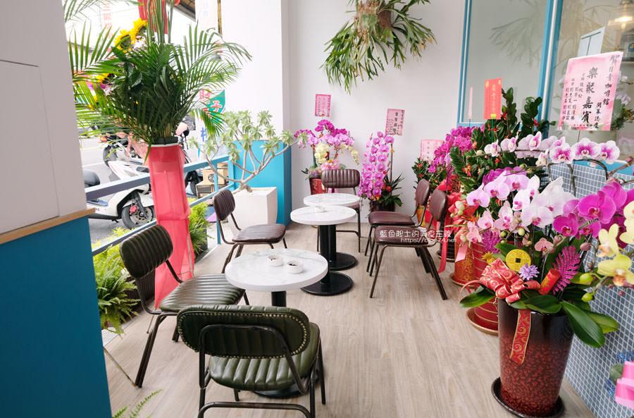 20190120124905 20 - 日青咖啡│網美咖啡館,藍白色系清新外觀,加分IG拍照打卡彩繪牆
