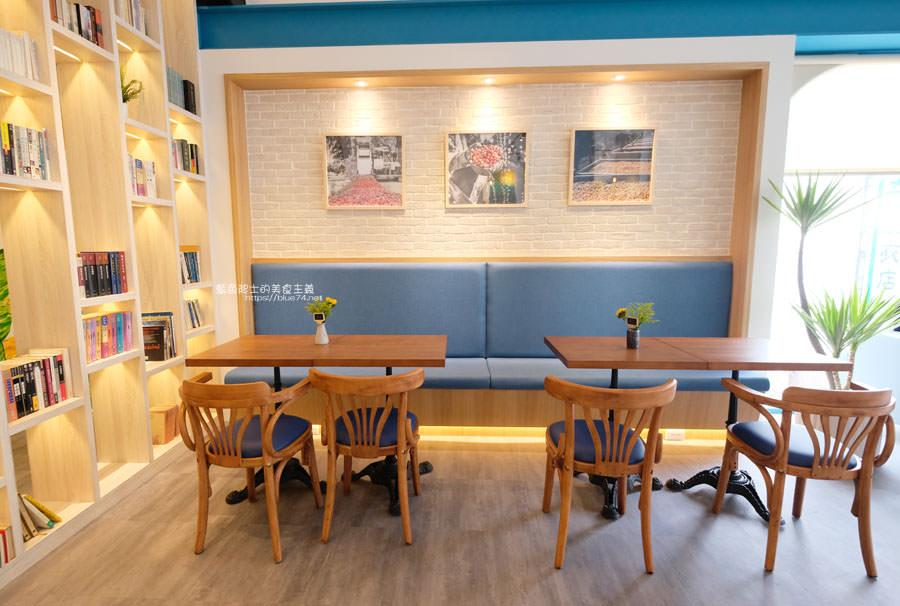 20190120124917 82 - 日青咖啡│網美咖啡館,藍白色系清新外觀,加分IG拍照打卡彩繪牆
