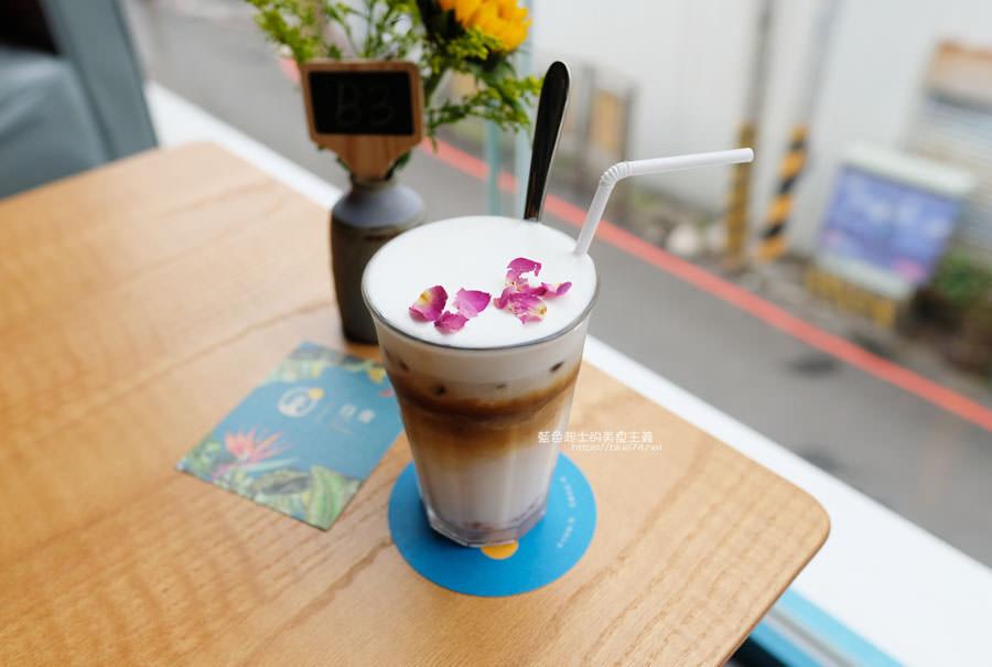 20190120124925 61 - 日青咖啡│網美咖啡館,藍白色系清新外觀,加分IG拍照打卡彩繪牆