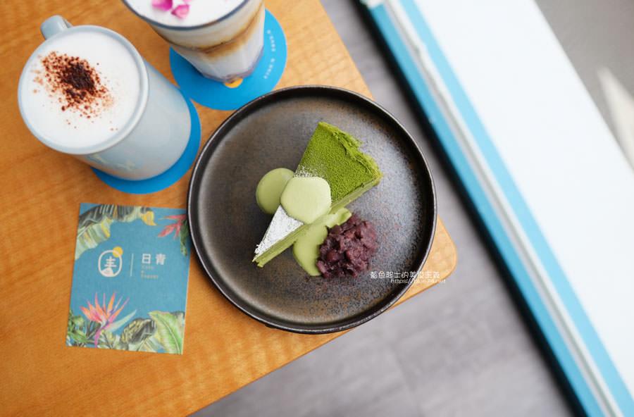 20190120124930 26 - 日青咖啡│網美咖啡館,藍白色系清新外觀,加分IG拍照打卡彩繪牆